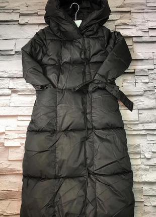 Тёплые куртки одеяла оверсайз пуховик зимний на морозы