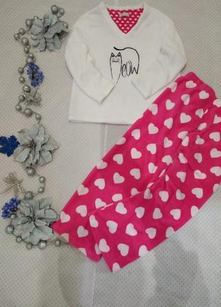 Женская пижама, домашний костюм кошечка, размер l-xl