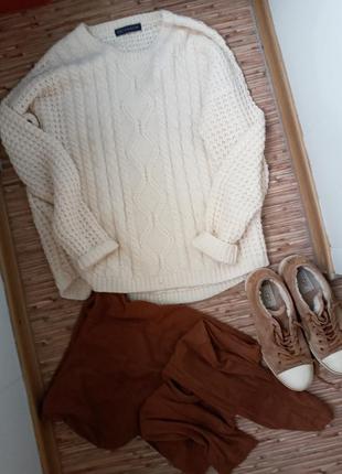 Кеды зимние в компоекте с джемпером и брюками