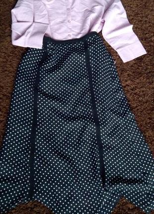 Очень красивая юбка в горошек
