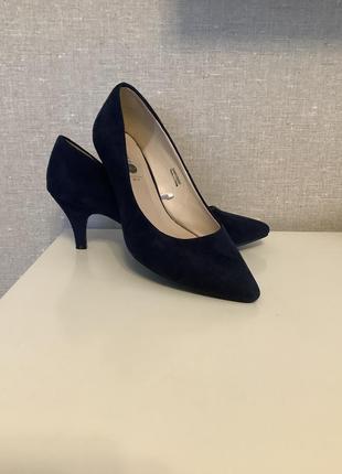 Туфли замшевые р.37,5