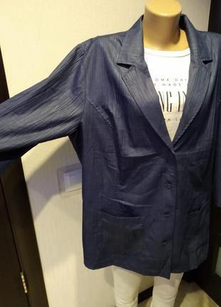 Стильный брэндовый пиджак жакет