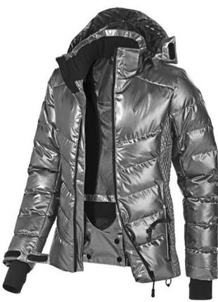 Женская зимняя лыжная куртка серебристая crivit  pro  германия