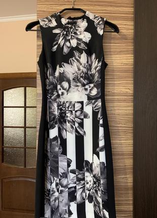 Красивое платье с реалистичным принтом от h&m