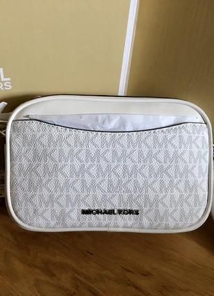 Кожаная оригинальная сумка michael kors поясная на пояс бананка crossbody
