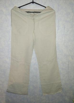 Льоные штаны