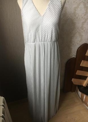 Длинное платье в пол макси