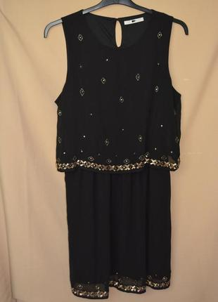 Красивое женское платье george англия размер 16