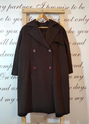 Шерстяное пальто purificacion garcia