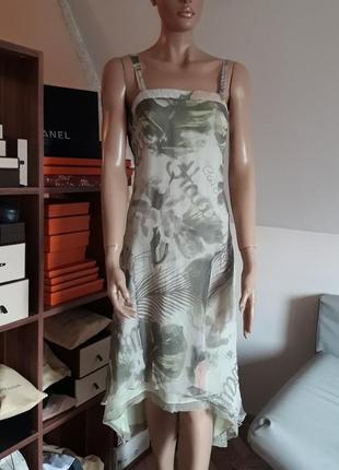 Шелковое платье mariella rosati! оригинал!