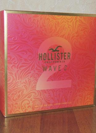Hollister festival vibes женский подарочный набор оригинал