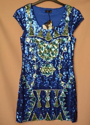 Вечернее платье boohoo англия размер м