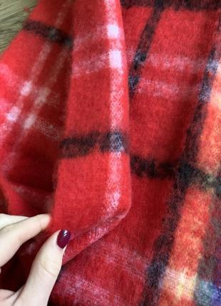 Очень тёплый и яркий шарф