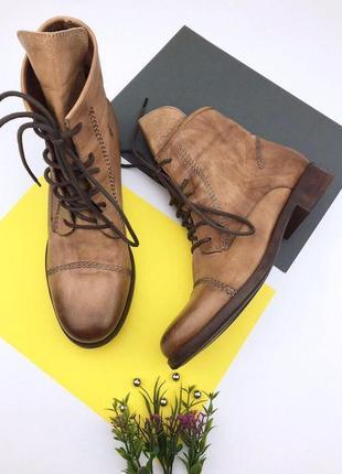 Кожаные ботинки freeflex