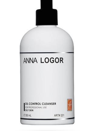 Очищающий гель для жирной кожи anna logor 350 мл