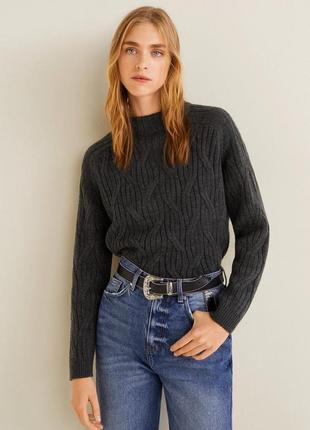 Стильный свитер от мango, м, оригинал, испания