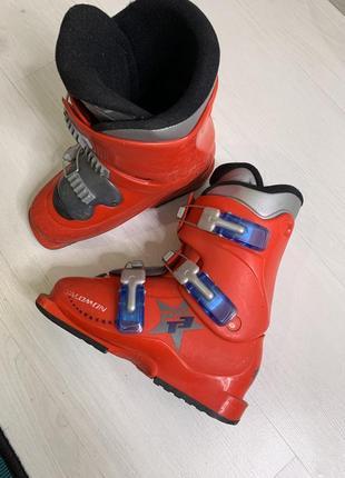 Горнолыжные ботинки salomon ботинки для лыж 220 - 225 мм