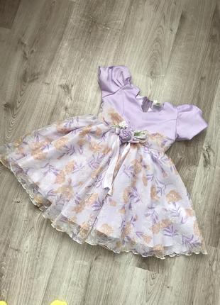 Пишное платье на девочку