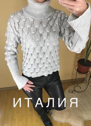 Укороченный свитер италия