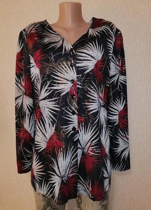 🔥🔥🔥красивая женская кофта на пуговицах, джемпер, блузка, кардиган kim&co🔥🔥🔥