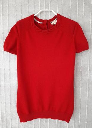 Темно-красный пуловер burberry brit