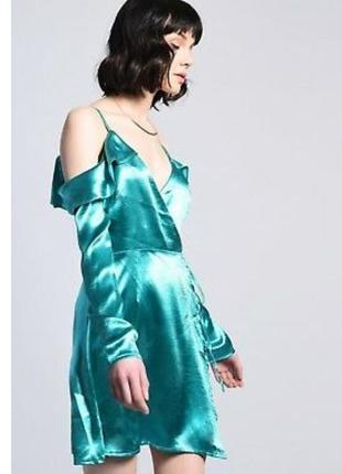 Атласовое платье нс