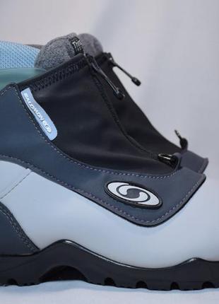 Ботинки лыжные salomon sns profil thinsulate insulation. румыния. оригинал. 41 р./26 см.