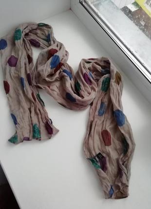 Красивий фірмовий шарф шведського бренду gudrun sjödén!!! оригінал!!!