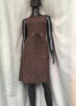 Теплое платье mango suit