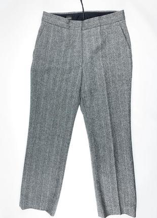 Jil sander шерстяные брюки женские