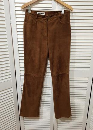 Замшевые брюки штаны gerry weber