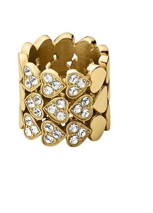 Новое кольцо от dyrberg kern с кристаллами swarovski.