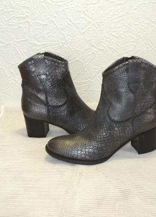"""Итальянские кожаные ботиночки от """"empodium"""", р 37,5"""