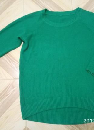 Стильный яркий свитер oversize
