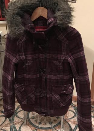 Шерстяна куртка