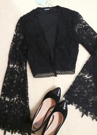 Топ блуза  кружевной