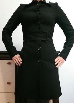 Демисезонное пальто sisley italia xs/s