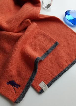Супер стильный зимний длинный шерстяной шарф tom morris