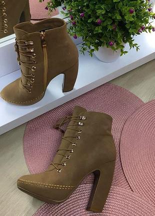 Крутые ботинки экозамш