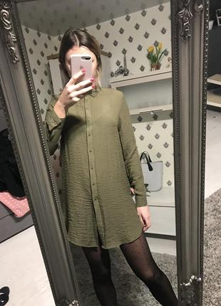 Рубашка платье new look