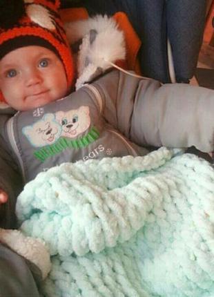 Плюшевые пледы для малышей и не только