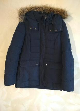 Зимняя темно-синяя куртка sutherland