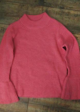 Женский теплый пуловер