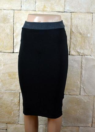 Акция 1+1=3! базовая юбка футляр миди по фигуре от zara