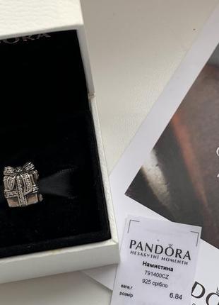 """Шарм pandora """"драгоценный подарок"""". оригинал."""
