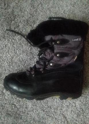 Супер  теплі  черевики  на зиму /ботинки на большой мороз kamik thinsulate