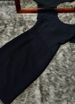 Платье футляр чехол со спинкой на пуговицах next