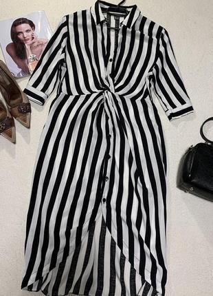 Стильное платье рубашка,размер xl