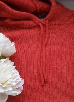 Mutphy&nye кофта с капюшоном  шерсть s-m-размер. италия