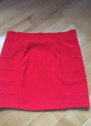 Короловая юбка бандажна h&m